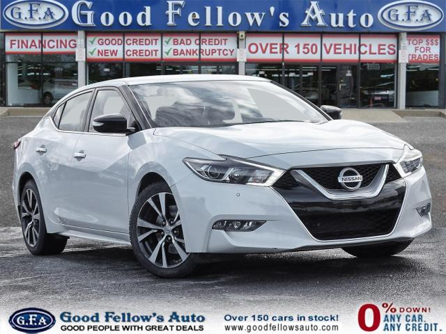 2016 Nissan Maxima SV 3.5L 6CYL, REARVIEW CAMERA, LEATHER SEATS, NAVI