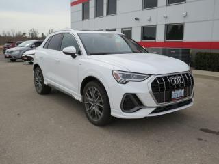 Used 2019 Audi Q3 Technik with Navigation for sale in Tillsonburg, ON