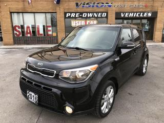 Used 2016 Kia Soul 5dr Wgn Auto EX-CLEAN CARFAX for sale in North York, ON
