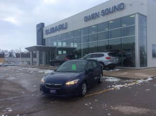 Used 2017 Subaru Impreza CONVENIENCE for sale in Owen Sound, ON