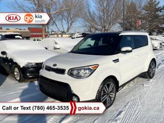 Used 2016 Kia Soul SX LUXURY; HEATED/COOLED SEATS, A/C, LEATHER, NAV, PREMIUM AUDIO, BACKUP CAMERA, BUTTON START, BLUETOOTH for sale in Edmonton, AB