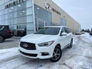Used 2017 Infiniti QX60 PREMIUM PKG, CPO, ACCIDENT FREE for sale in Edmonton, AB