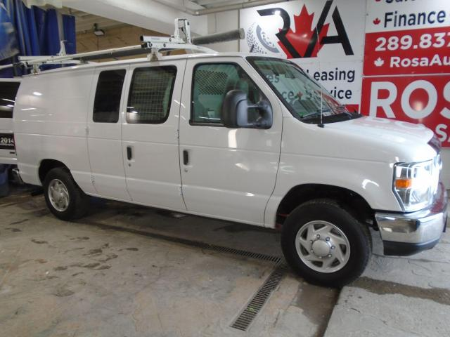 2014 Ford Econoline AUTO SAFETY NO ACCIDENT LOW KM LADDER SHILVES