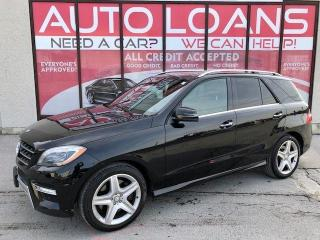 Used 2013 Mercedes-Benz M-Class ML 550-ALL CREDIT ACCEPTED for sale in Toronto, ON