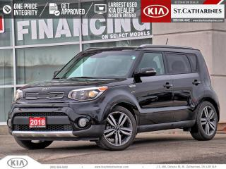 Used 2018 Kia Soul EX Premium | LEATHER | PANO ROOF | BLINDSPOT ALRT for sale in St Catharines, ON