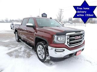Used 2016 GMC Sierra 1500 SLT Leather sunroof Navigation Only 93000 km for sale in Gorrie, ON