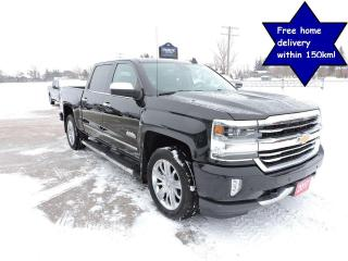Used 2017 Chevrolet Silverado 1500 High Country 6.2L Leather Sunroof. Navigation Load for sale in Gorrie, ON