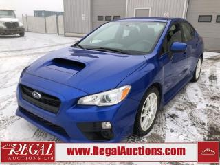 Used 2015 Subaru Impreza WRX 4D Sedan AWD 2.0L for sale in Calgary, AB