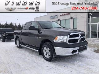 Used 2017 RAM 1500 ST for sale in Virden, MB