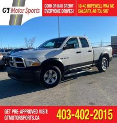 Used 2009 Dodge Ram 1500 ST | $0 DOWN - EVERYONE APPROVED! for sale in Calgary, AB