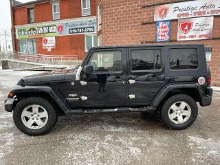 Used 2008 Jeep Wrangler Sahara/4X4/3.8L/SAFETY INCLUDED for sale in Cambridge, ON