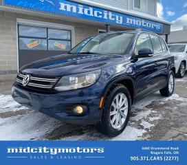 Used 2013 Volkswagen Tiguan Comfortline 4Motion | HEATED SEATS | CLEAN CARFAX for sale in Niagara Falls, ON