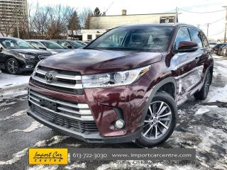 Used 2018 Toyota Highlander XLE ONLY 34KKMS!!  LEATHER  ROOF  NAVI  BLIS  ADAP for sale in Ottawa, ON