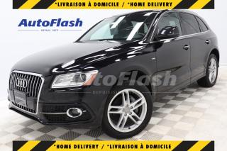 Used 2017 Audi Q5 2.0T PROGRESSIV *S-LINE *GPS/CAMERA *TOIT-PANO for sale in Saint-Hubert, QC