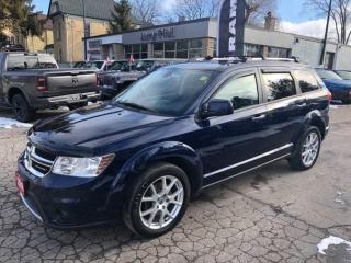 Used 2018 Dodge Journey GT, 7 Pass, Sunroof, Leather, Low kms! for sale in New Hamburg, ON