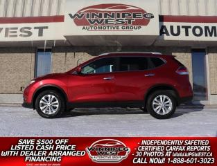 Used 2016 Nissan Rogue SV AWD, WELL EQUIPPED, LOCAL HISTORY,ONLY $129 B/W for sale in Headingley, MB