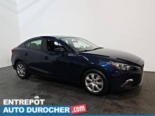 Used 2015 Mazda MAZDA3 GX AUTOMATIQUE - AIR CLIMATISÉ - BLUETOOTH for sale in Laval, QC