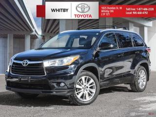 Used 2016 Toyota Highlander XLE for sale in Whitby, ON