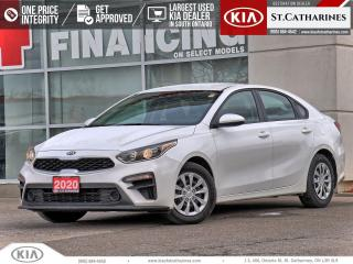 Used 2020 Kia Forte LX | Heated Seat | Android Auto | Backup Camera for sale in St Catharines, ON