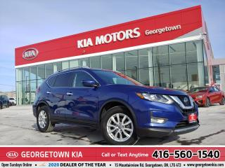 Used 2019 Nissan Rogue SV | CLEAN CARFAX | NAV | B/U CAM | B/T | 37,884 K for sale in Georgetown, ON
