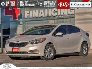 Used 2015 Kia Forte LX+ | Sunroof | Bluetooth | Cruise for sale in St Catharines, ON