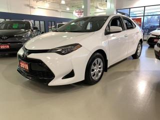 Used 2019 Toyota Corolla CE for sale in Mississauga, ON