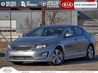 Used 2014 Kia Optima EX Premium | Navigation | Leather | Sunroof for sale in St Catharines, ON