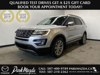 Used 2017 Ford Explorer LIMITED for sale in Sherwood Park, AB