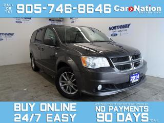 Used 2014 Dodge Grand Caravan 30TH ANNIVERSARY | DVD PLAYER | LEATHER | NAV for sale in Brantford, ON