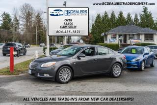 Used 2011 Buick Regal CXL w/1SC, Rare 4-Cyl, Leather Heated Seats, Bluetooth! for sale in Surrey, BC