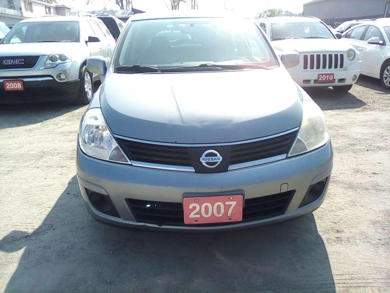 2007 Nissan Versa 1.8 S Sedan