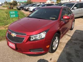 Used 2011 Chevrolet Cruze 1LT for sale in Leamington, ON