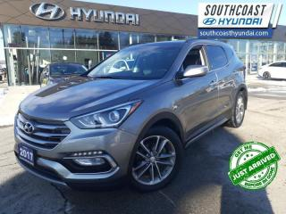 Used 2017 Hyundai Santa Fe Sport 2.0T Limited  - Leather Seats - $174 B/W for sale in Simcoe, ON