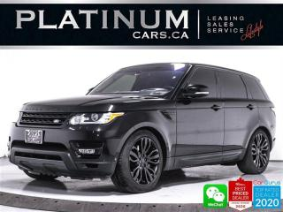 Used 2016 Land Rover Range Rover Sport SUPERCHARGED DYNAMIC 510HP, V8, MERIDIAN, NAV for sale in Toronto, ON