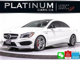 Used 2014 Mercedes-Benz CLA-Class AMG CLA45, 355HP, AMG PKG, TRACK PKG, HEATED for sale in Toronto, ON