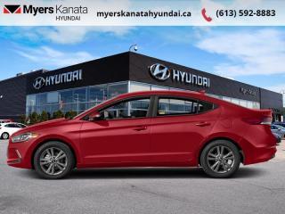 Used 2018 Hyundai Elantra GL  - $104 B/W - Low Mileage for sale in Kanata, ON