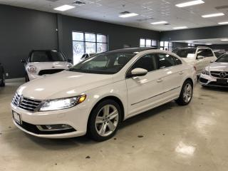 Used 2013 Volkswagen Passat CC SPORTLINE*REAR VIEW CAMERA*NO ACCIDENTS*LOW KM*CER for sale in North York, ON