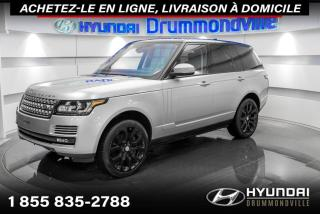 Used 2017 Land Rover Range Rover SUPERCHARGED + GARANTIE LAND ROVER + MAG for sale in Drummondville, QC