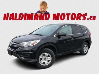 Used 2016 Honda CR-V LX AWD for sale in Cayuga, ON