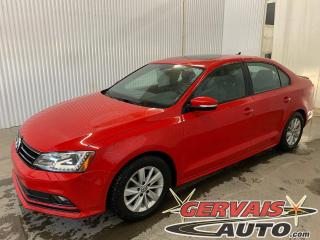 Used 2016 Volkswagen Jetta Comfortline Tsi Toit Ouvrant Caméra A/C Mags for sale in Trois-Rivières, QC
