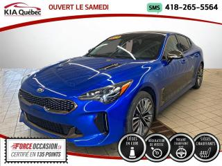 Used 2019 Kia Stinger GT-LINE* TURBO* AWD* CUIR* CARPLAY* for sale in Québec, QC