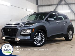 Used 2018 Hyundai KONA Preferred à traction avant for sale in Val-David, QC