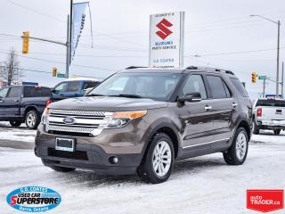 Used 2015 Ford Explorer XLT 4x4 ~7 Passenger ~Nav ~Camera ~Heated Seats for sale in Barrie, ON