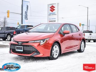 Used 2019 Toyota Corolla Hatchback SE ~Heated Seats ~Backup Camera ~Bluetooth ~Alloys for sale in Barrie, ON