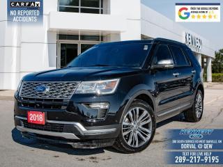 Used 2018 Ford Explorer Platinum for sale in Oakville, ON