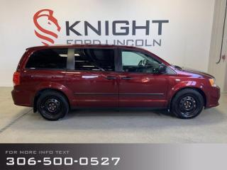 Used 2016 Dodge Grand Caravan SE, Low Km's, Great Family Van! for sale in Moose Jaw, SK