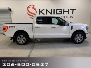 New 2021 Ford F-150 Platinum, 3m Film, Demo unit! for sale in Moose Jaw, SK