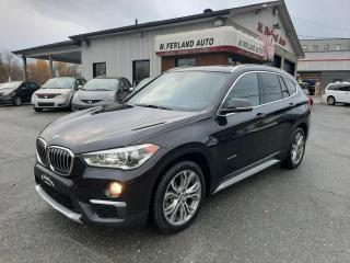 Used 2016 BMW X1 xDrive28i 4 portes TI for sale in Sherbrooke, QC