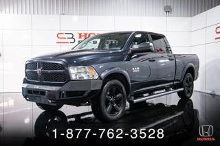 Used 2016 RAM 1500 OUTDOORSMAN + DIESEL + CREW + MAGS + WOW for sale in St-Basile-le-Grand, QC
