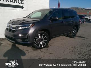 New 2021 Honda Pilot TOURING 7P for sale in Cranbrook, BC